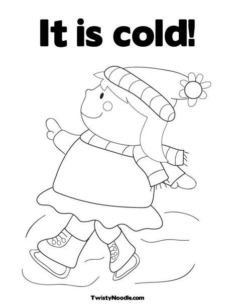 cold weather coloring pages pin hot weather colouring pages on pinterest