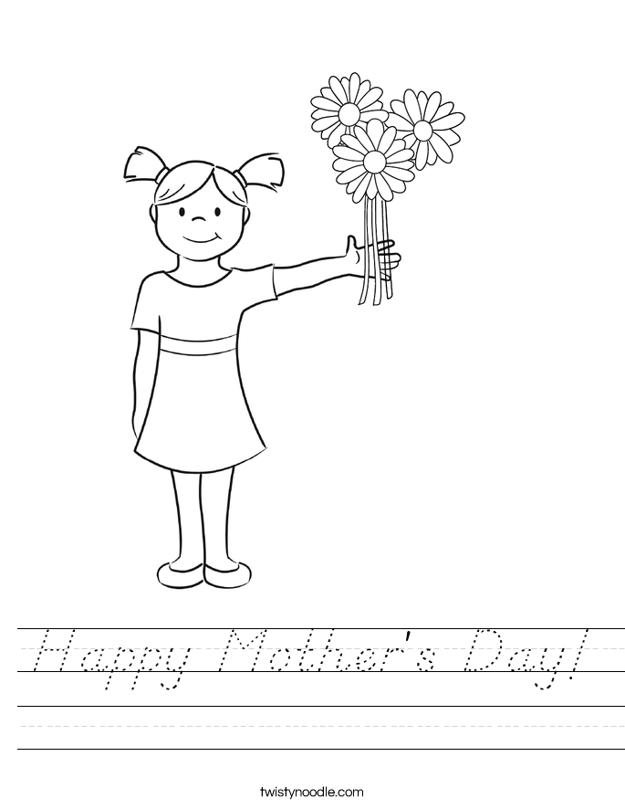 Happy Mother's Day! Worksheet