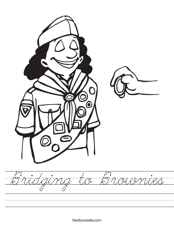 Bridging to Brownies Worksheet