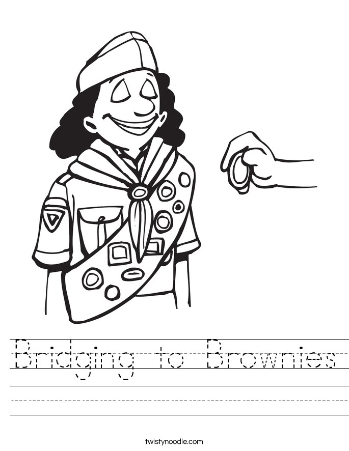 Bridging to Brownies Worksheet