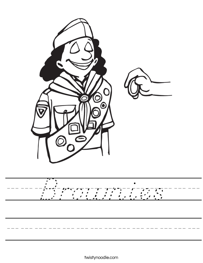 Brownies Worksheet