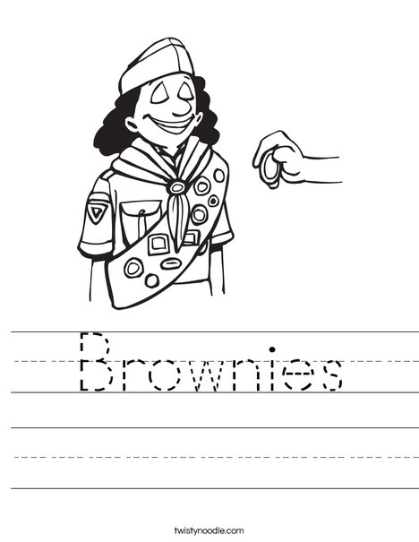 Brownie Worksheet
