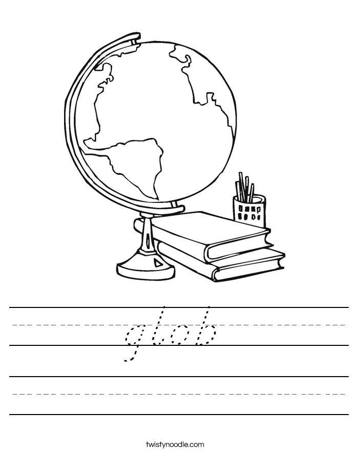 glob Worksheet
