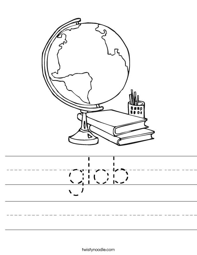 glob Worksheet