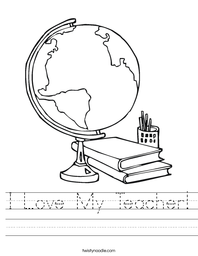 Printables Teacher Worksheet teacher worksheet twisty noodle i love my handwriting sheet