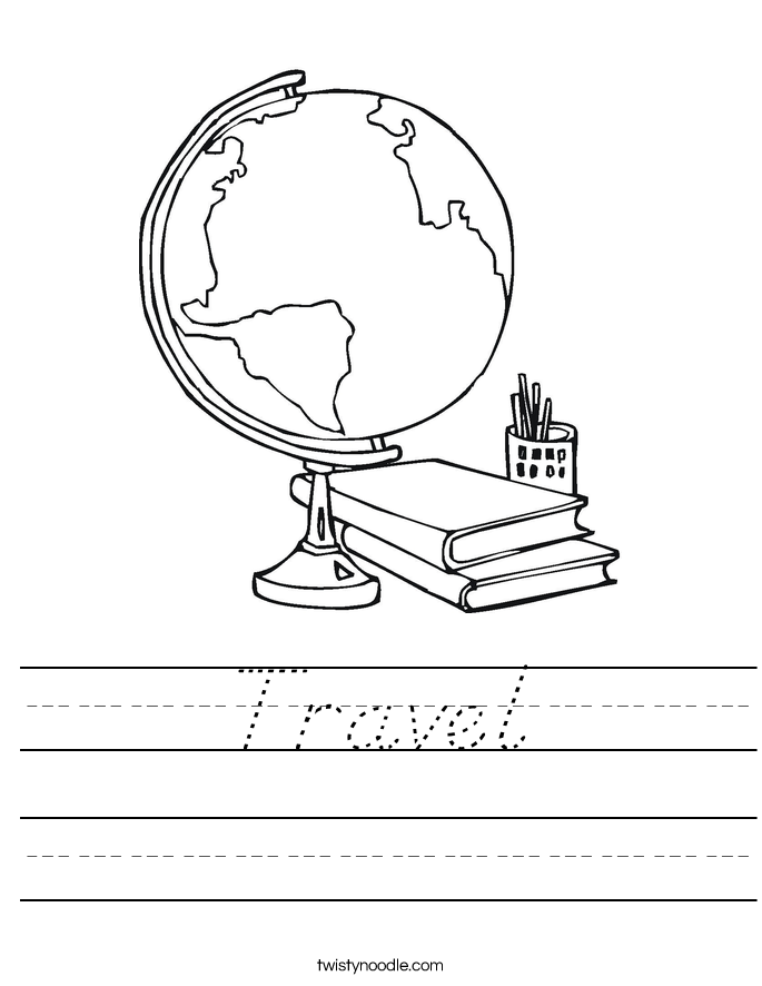 Travel Worksheet