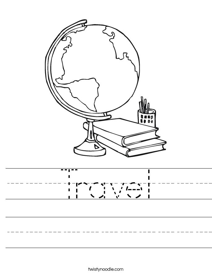 Travel Worksheet