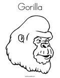 GorillaColoring Page