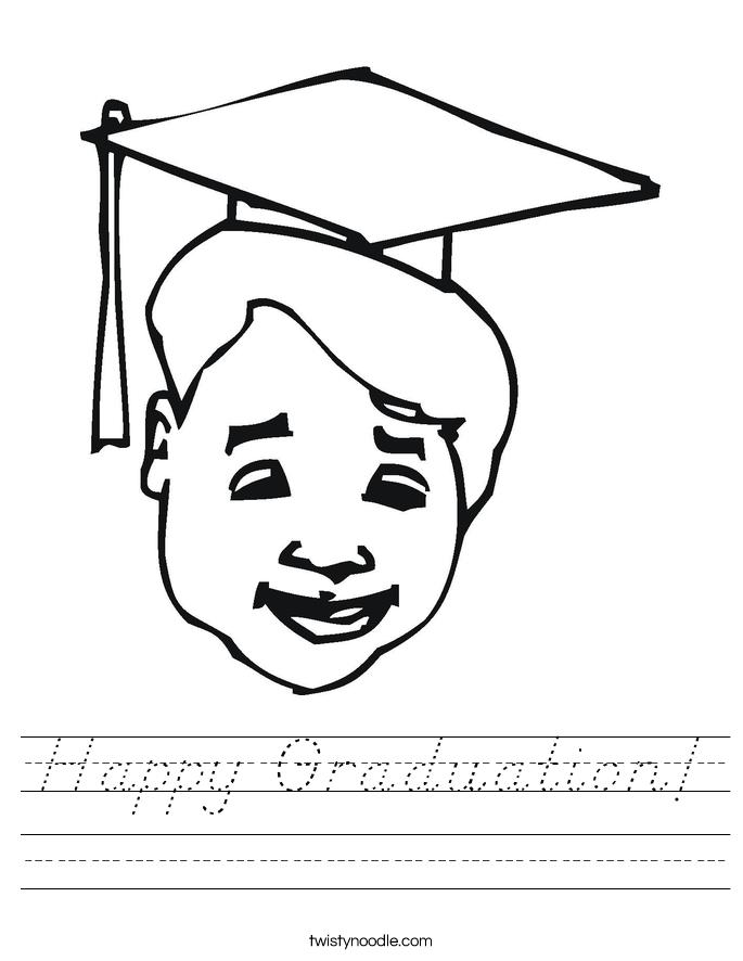 Happy Graduation! Worksheet