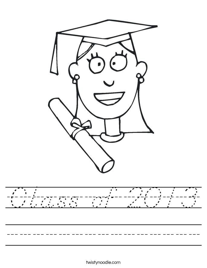 Class of 2013 Worksheet