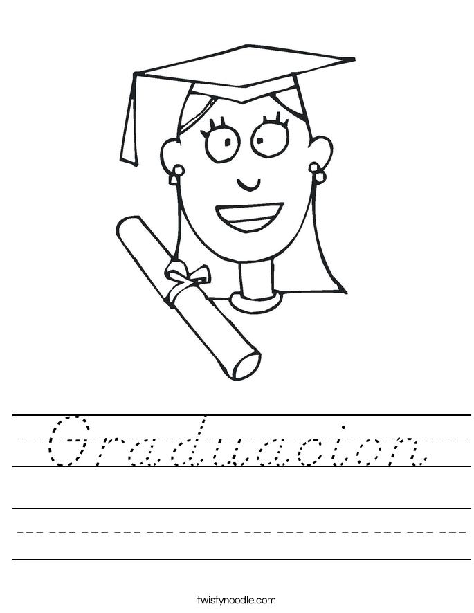 Graduacion Worksheet