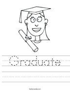 Graduate Handwriting Sheet