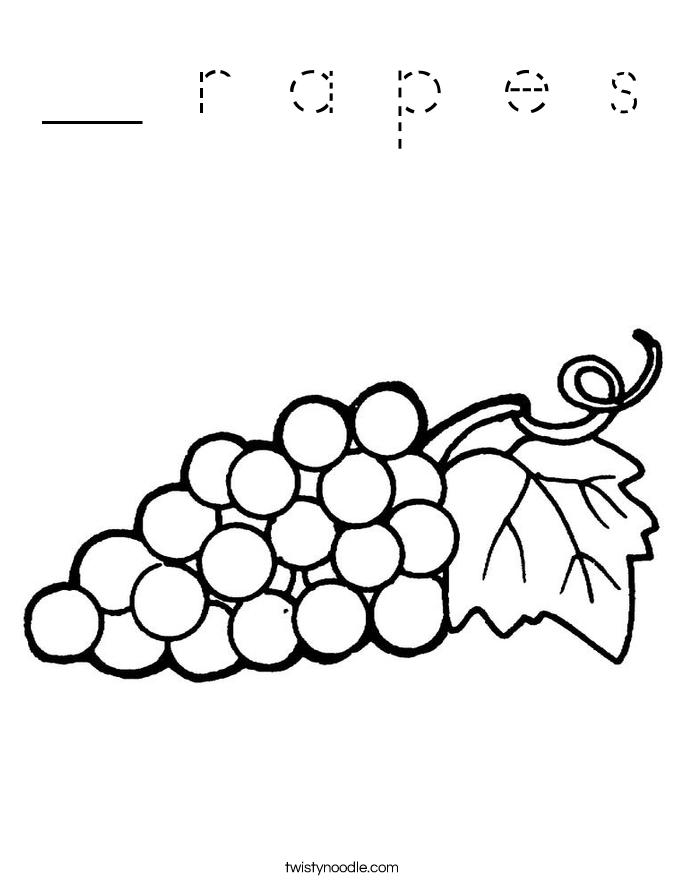 __ r a p e s Coloring Page