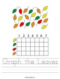Graph the Leaves Worksheet