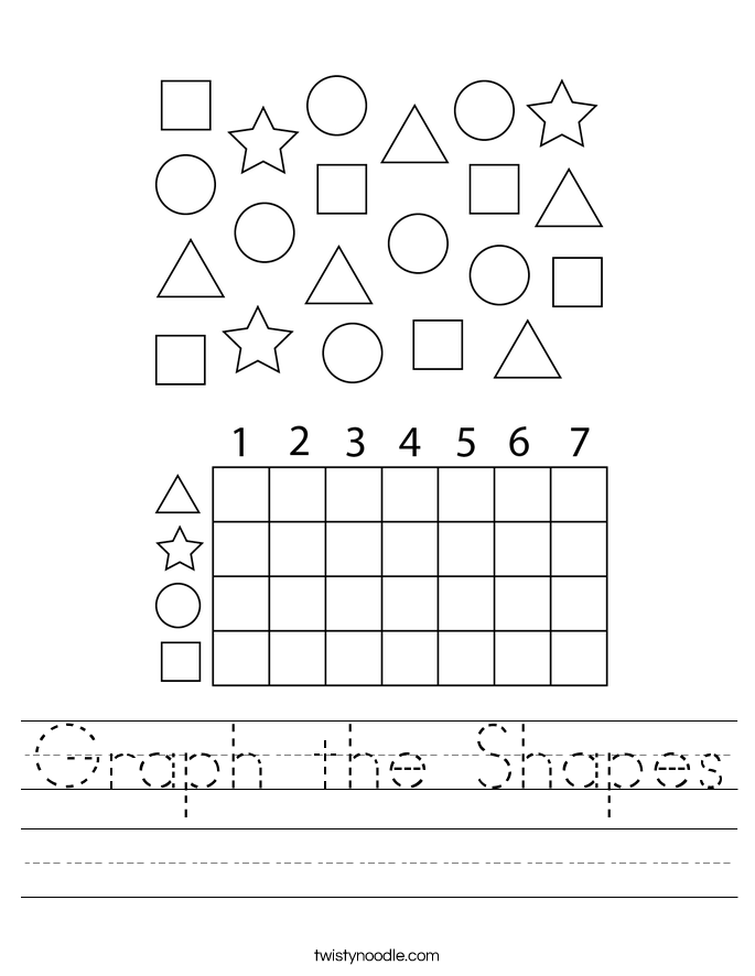 Graph the Shapes Worksheet