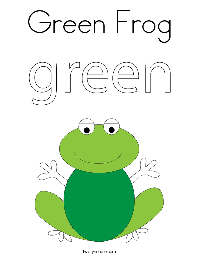 Objects that are Green | Worksheet | Education.com