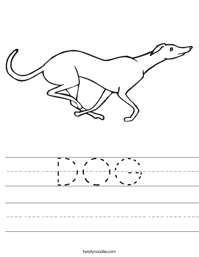 DOG Worksheet