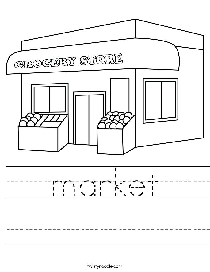 market Worksheet