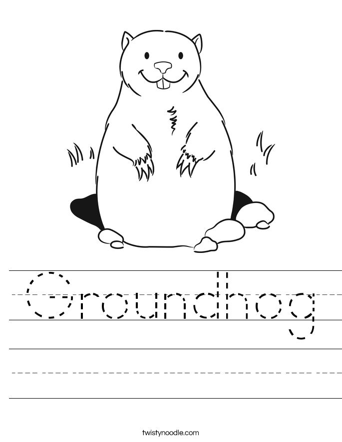 This is a graphic of Universal Free Printable Groundhog Day Worksheets