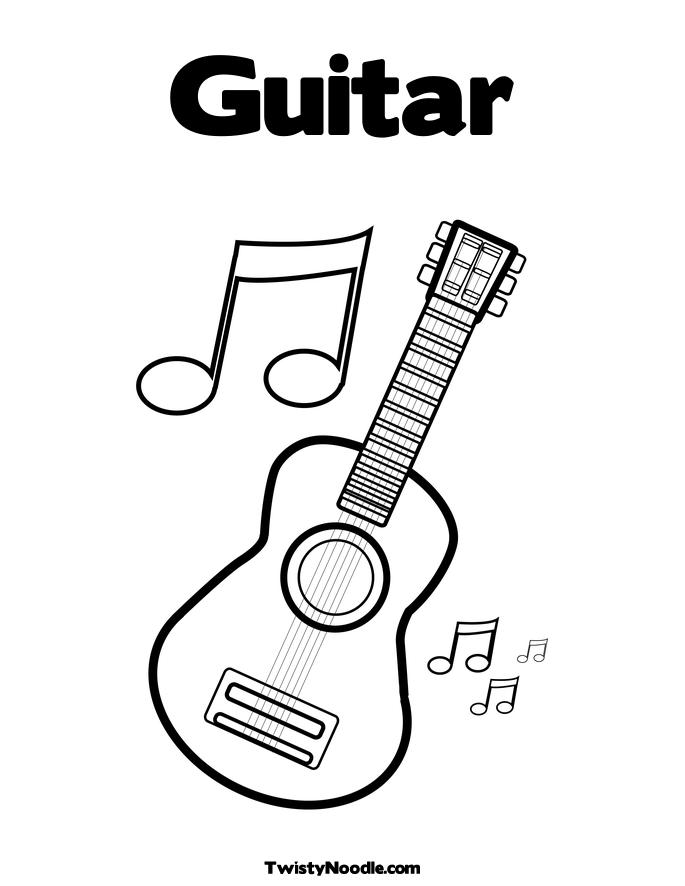 guitar hero printable coloring pages - photo#26
