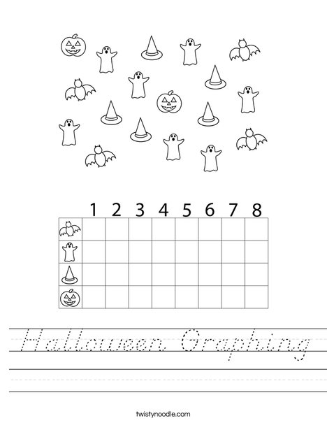 Halloween Graphing Worksheet