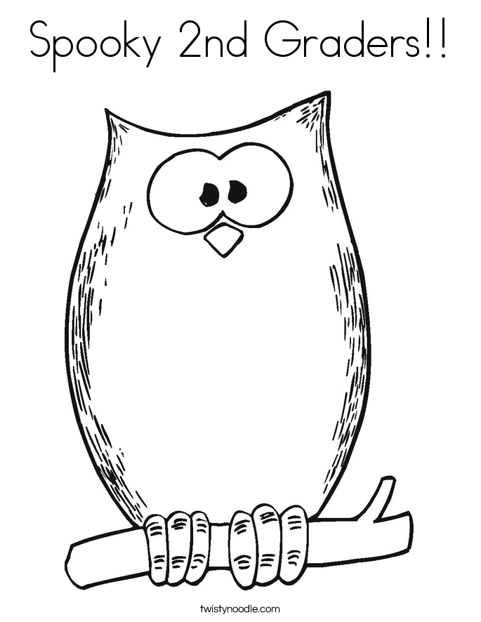 Printable Coloring Pages For Second Graders Coloring Coloring Pages