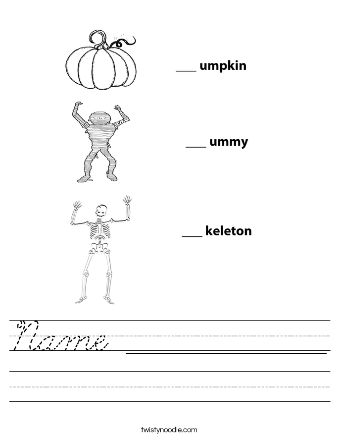 Name ______________ Worksheet