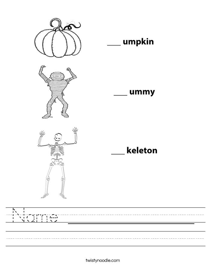 Name ______________ Worksheet