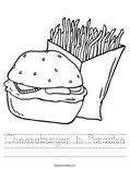 Cheeseburger in Paradise Worksheet
