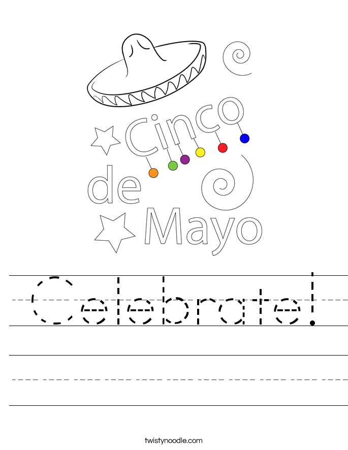 Celebrate! Worksheet
