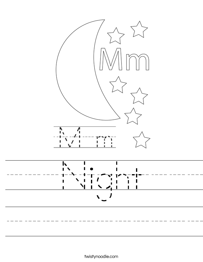 Night Worksheet