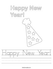 Happy New Year! Worksheet