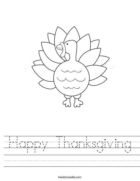 worksheets for thanksgiving - laveyla.com