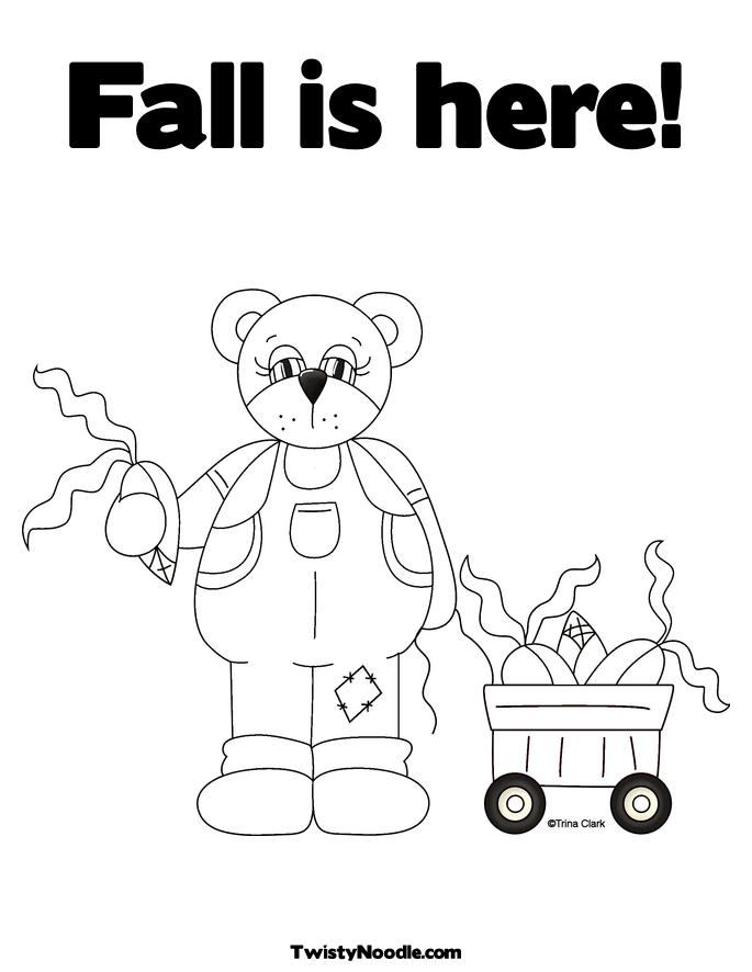 free fall festival coloring pages - photo#29