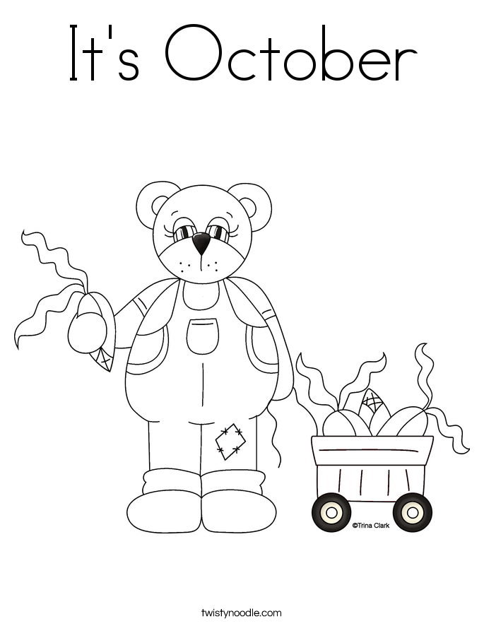 October Color By Number Coloring Sheet Printable In Addition Hobbies ...
