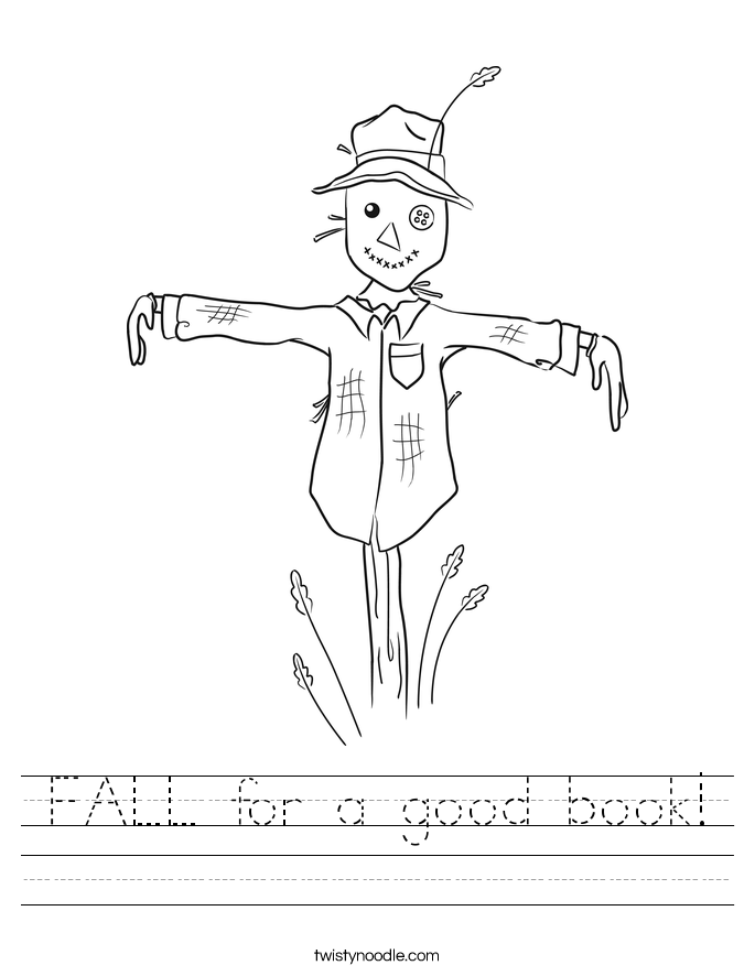 FALL for a good book! Worksheet
