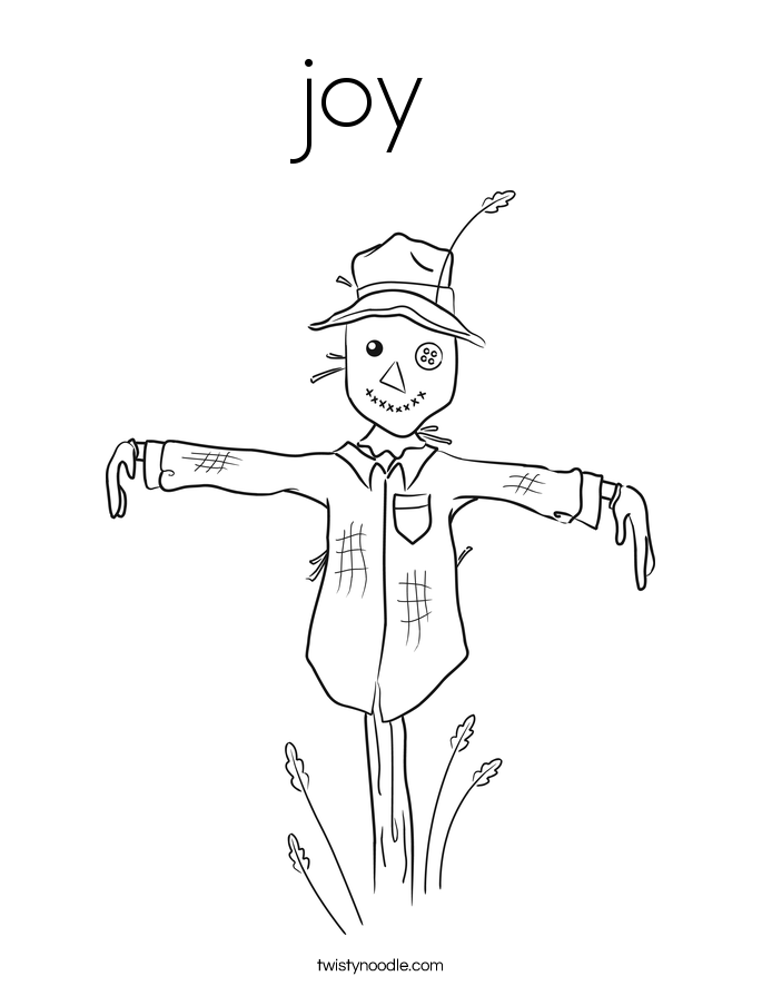 Joy Coloring Page Twisty Noodle Joys Coloring Pages Page