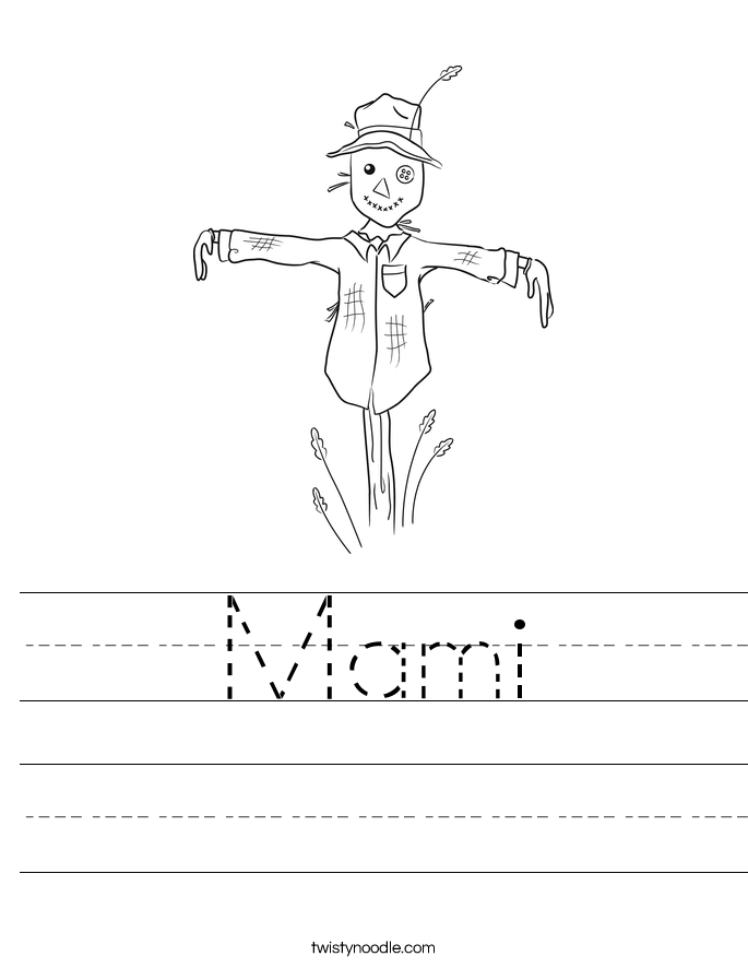 Mami Worksheet