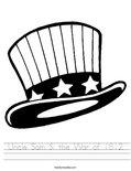 Uncle Sam & the War of 1812 Worksheet
