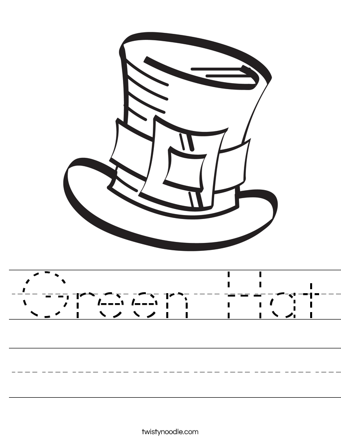 Green Hat Worksheet