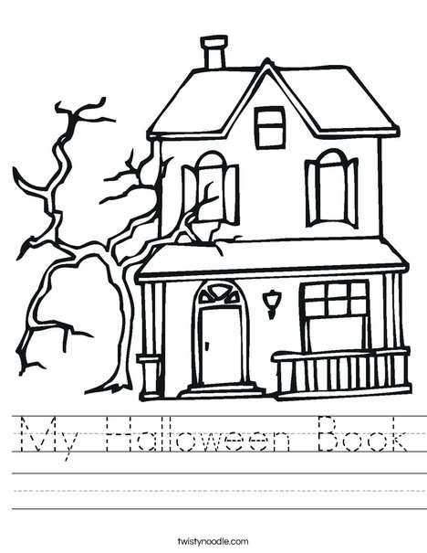 Haunted Castle Worksheet