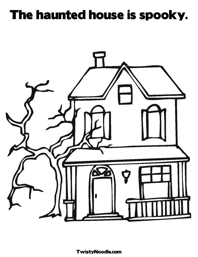 Self Assessment Worksheet besides Haunted House Coloring Page as well ...