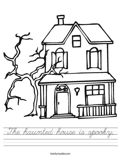 Haunted Castle Worksheet