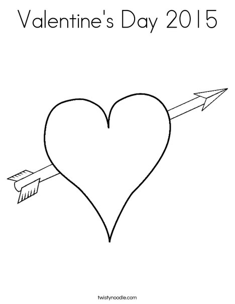valentines day 2015 coloring pages - photo#17