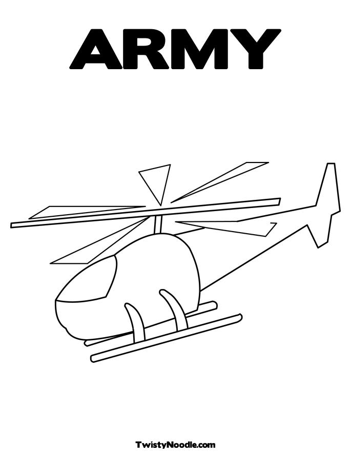 army helicopter coloring pages - photo#25
