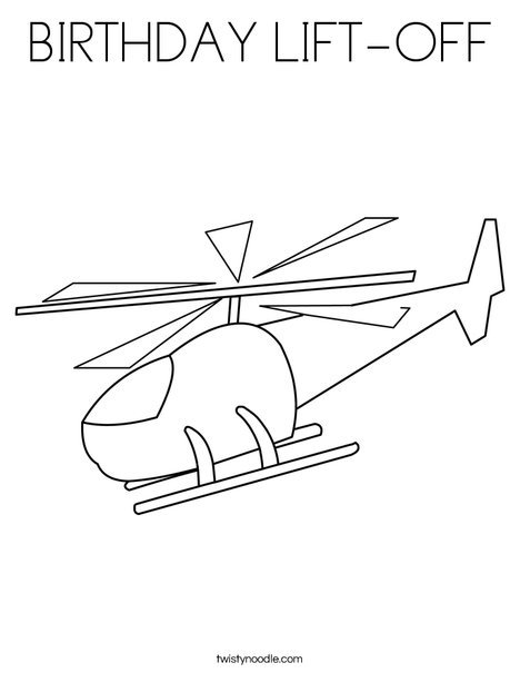 Chopper Coloring Page