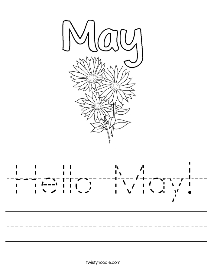Hello May! Worksheet