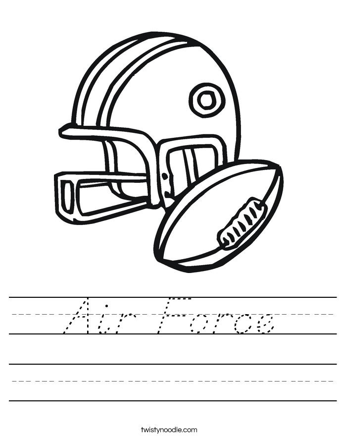 Air Force Worksheet