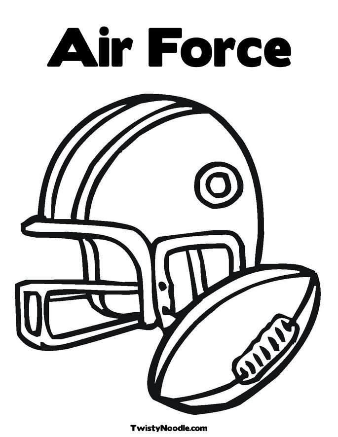 air force insignia coloring pages - photo#29