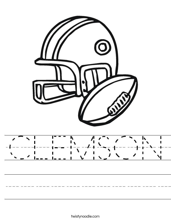 CLEMSON Worksheet